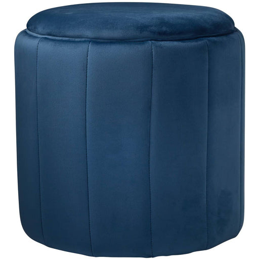 Round Deep Plush Stool - Simply Utopia