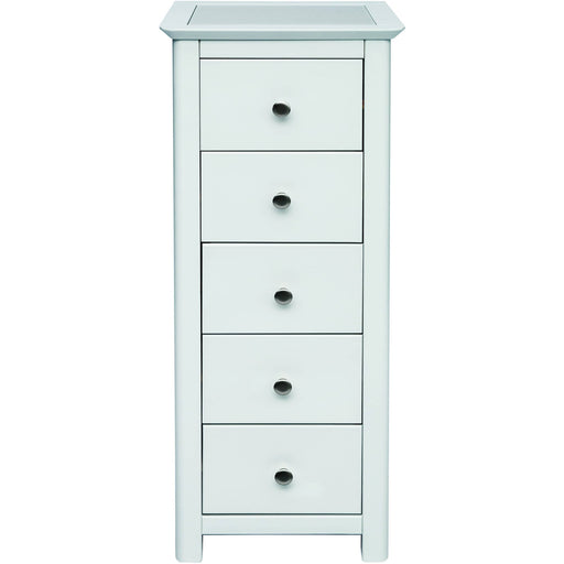 Stirling 5 drawer narrow chest - Simply Utopia