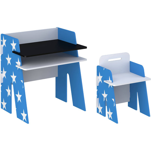 Star Desk & Chair Blue - Simply Utopia