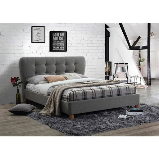 Stockholm Fabric Bed - Simply Utopia