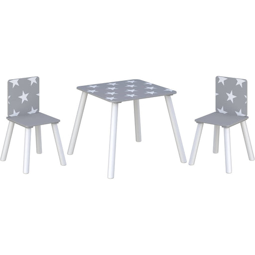 Star Table & Chairs Grey - Simply Utopia
