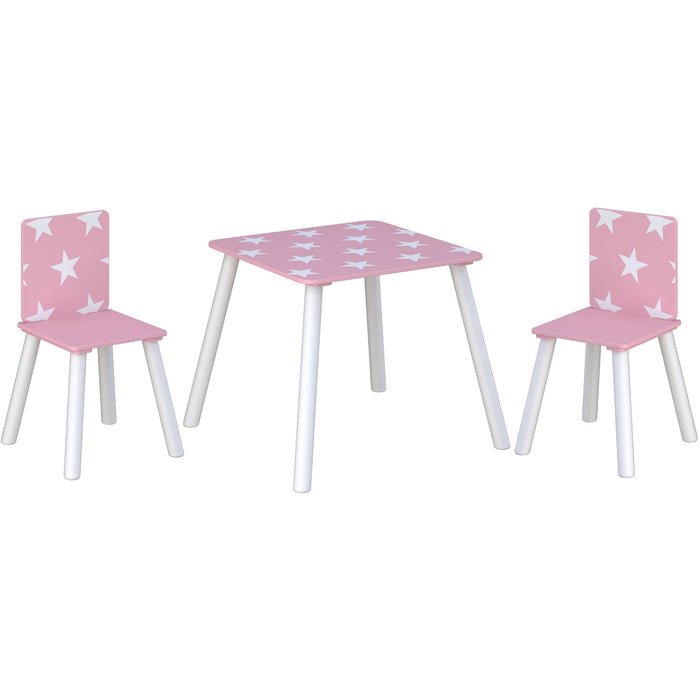 Star Table & Chairs Pink - Simply Utopia