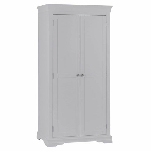 SW Painted Finish 2 Door Full Hanging Wardrobe - Simply Utopia