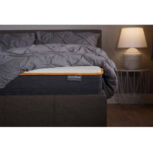 SleepSoul Balance 800 Individual Pocket Spring Mattress With Added Layer Of 2cm Memory Foam - Simply Utopia