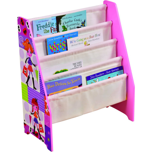 Fashion Girl Book Display with Canvas Pockets - Simply Utopia