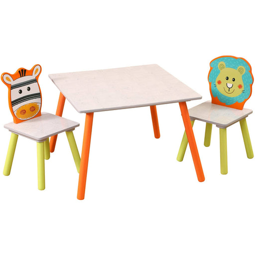 Grey Jungle Table And Chairs Set - Simply Utopia