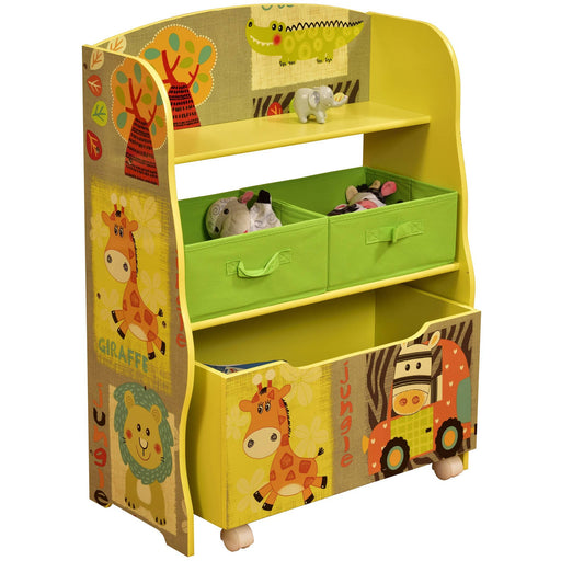 Kid Safari Storage Box & Storage Fabric Bins - Simply Utopia