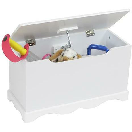 White Wooden Toy Box - Simply Utopia