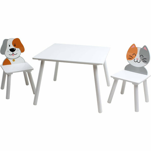 Dog And Cat Table And Chairs Set - Simply Utopia