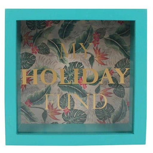 Tropical Island Holiday Fund Money Box - Simply Utopia