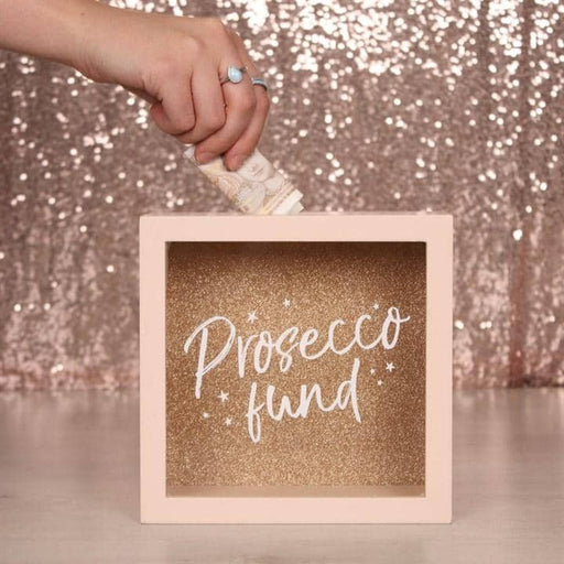 Prosecco Fund Money Box - Simply Utopia