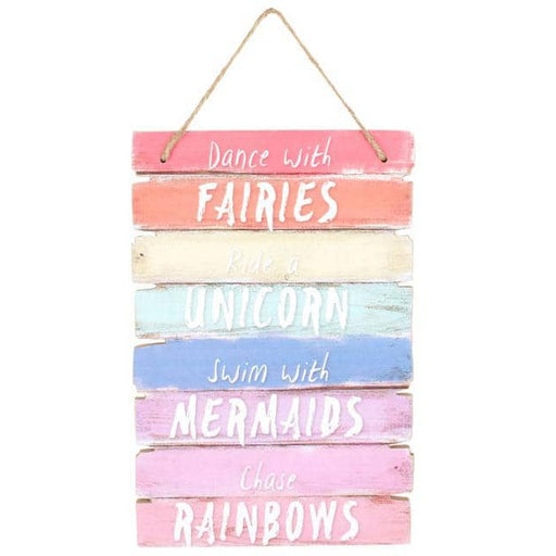 Dance With Fairies Plaque - Simply Utopia