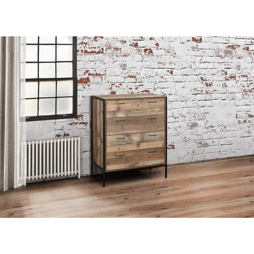 Urban 4 Drawer Chest Rustic - Simply Utopia