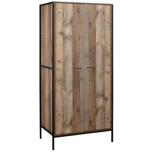 Urban 2 Door Wardrobe Rustic - Simply Utopia
