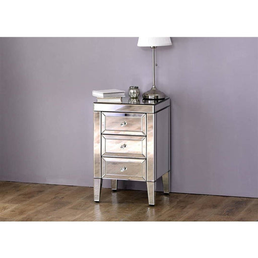 Valencia 3 Drawer Bedside - Simply Utopia