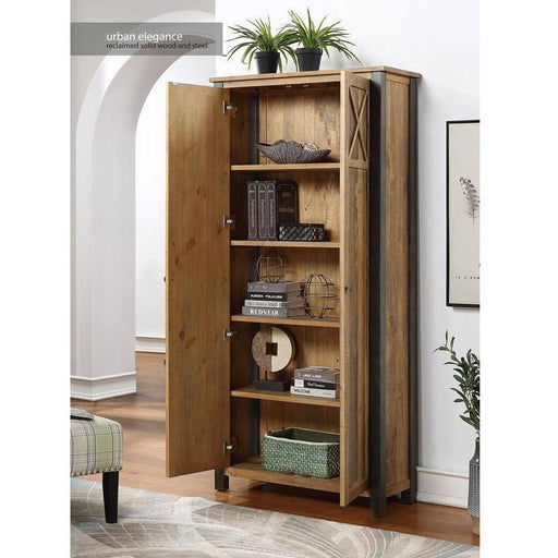 Urban Elegance - Reclaimed Living Room Storage Cabinet - Simply Utopia