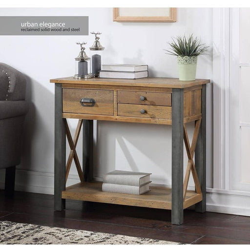 Urban Elegance - Reclaimed Small Console Table - Simply Utopia
