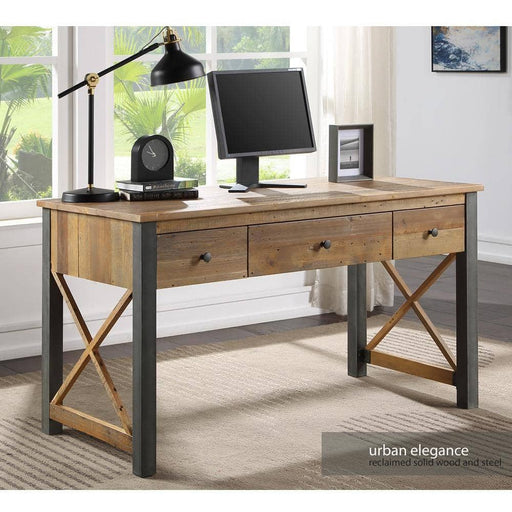 Urban Elegance - Reclaimed Home Office Desk / Dressing Table - Simply Utopia