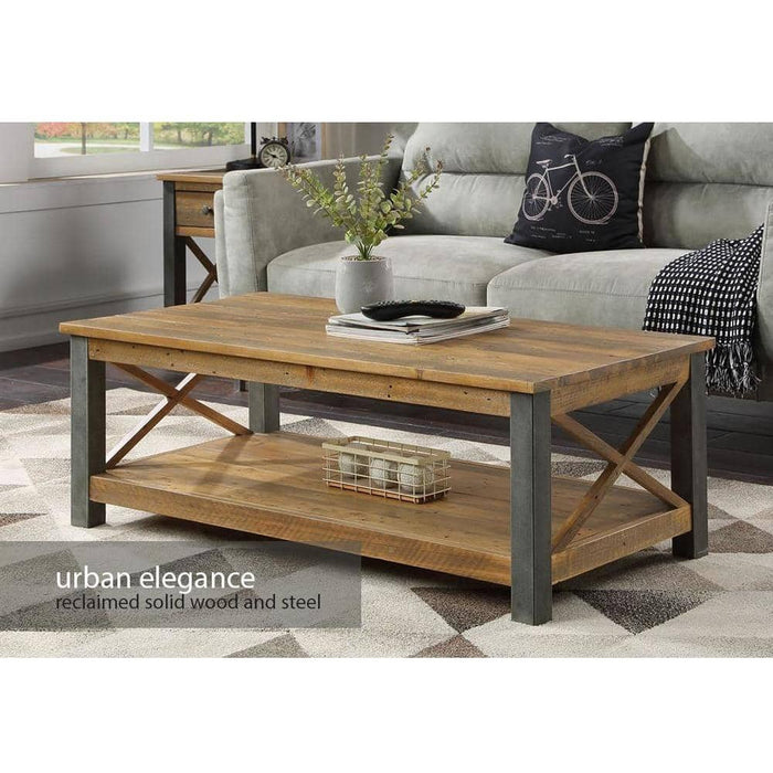 Urban Elegance - Reclaimed Coffee Table - Simply Utopia