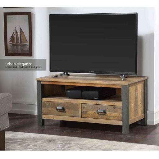 Urban Elegance - Reclaimed Widescreen TV Cabinet - Simply Utopia