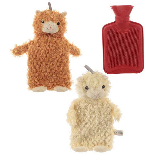 Cute Llama Plush Hot Water Bottle and Cover - Simply Utopia