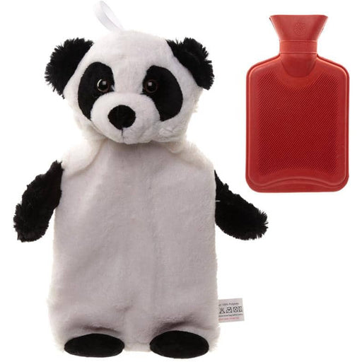 Cute Plush Pandarama Design 1 Litre Hot Water Bottle and Cover - Simply Utopia