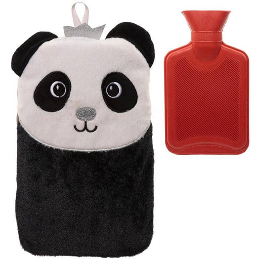 Cute Plush Pandarama Crown 1 Litre Hot Water Bottle and Cover - Simply Utopia