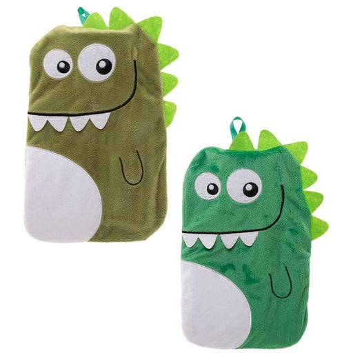 Cute Plush Dinosaur Design 1 Litre Hot Water Bottle and Cover - Simply Utopia
