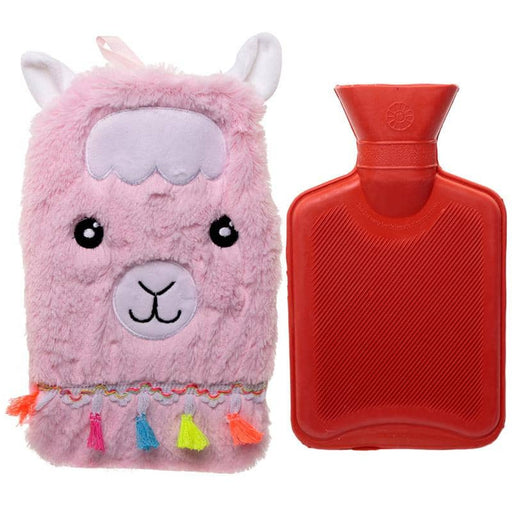 Cute Llamapalooza Design 1 Litre Hot Water Bottle and Cover - Simply Utopia
