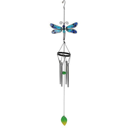 Blue Spotted Dragonfly Windchime - Simply Utopia