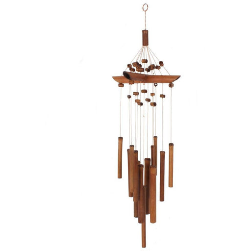 Bamboo Windchime with Beads - Simply Utopia
