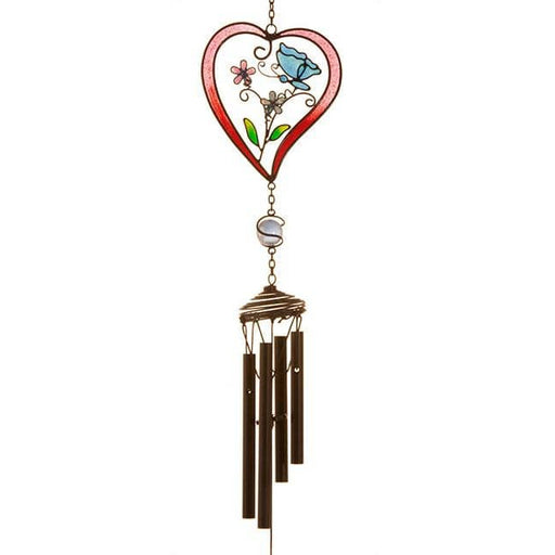 Red Heart Windchime - Simply Utopia