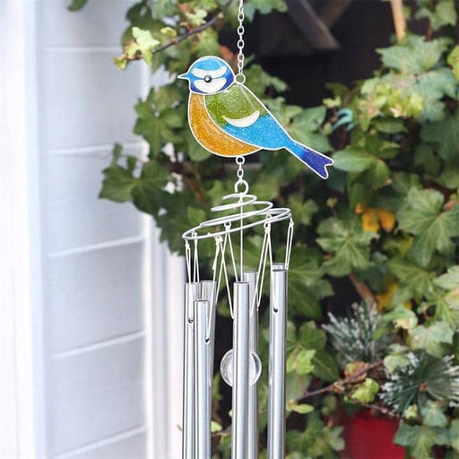 British Birds Blue Tit Windchime - Simply Utopia
