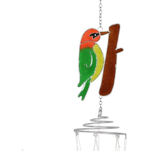 British Birds Woodpecker Windchime - Simply Utopia