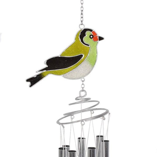 British Birds Goldfinch Windchime - Simply Utopia