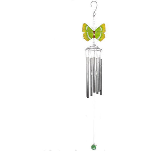 Green Hairstreak Butterfly Windchime - Simply Utopia
