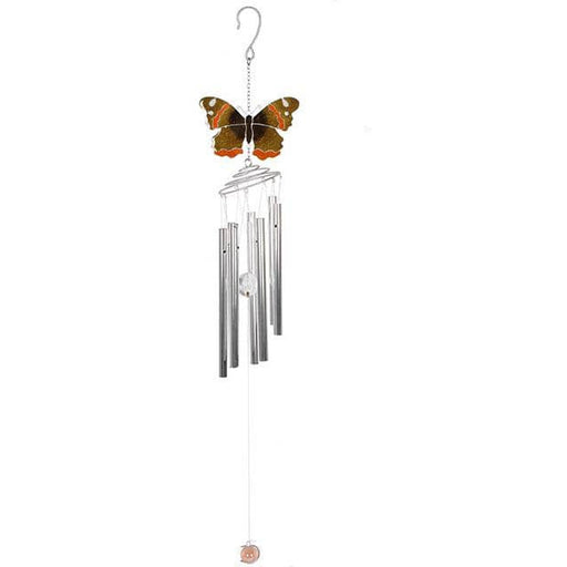 Red Admiral Butterfly Windchime - Simply Utopia