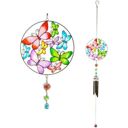 Circle Butterfly Windchime - Simply Utopia