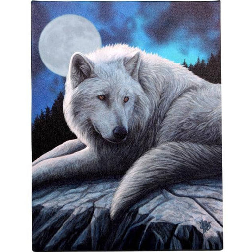 19x25cm Guardian Of The North Canvas Plaque by Lisa Parker - Simply Utopia