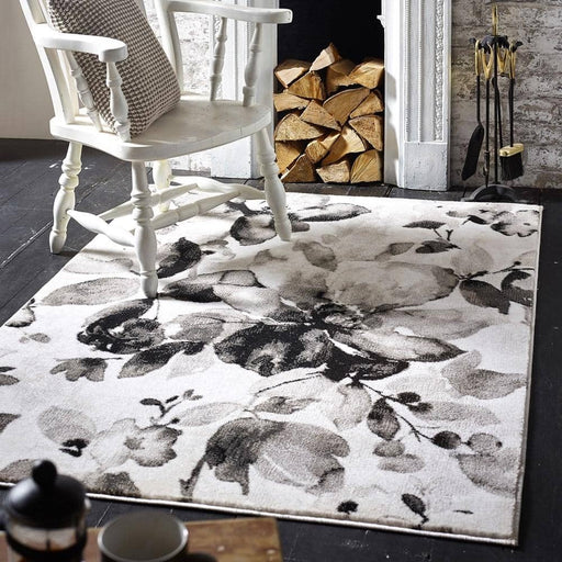 Watercolour Floral Rug - Simply Utopia