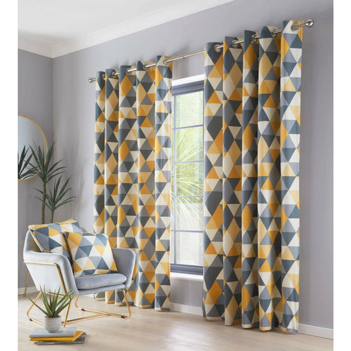 Dakota Eyelet Curtains - Simply Utopia