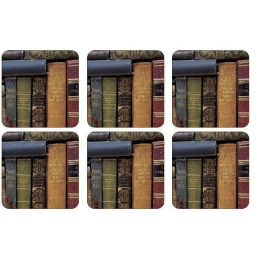 Pimpernel Archive Books Coasters Set of 6 - Simply Utopia