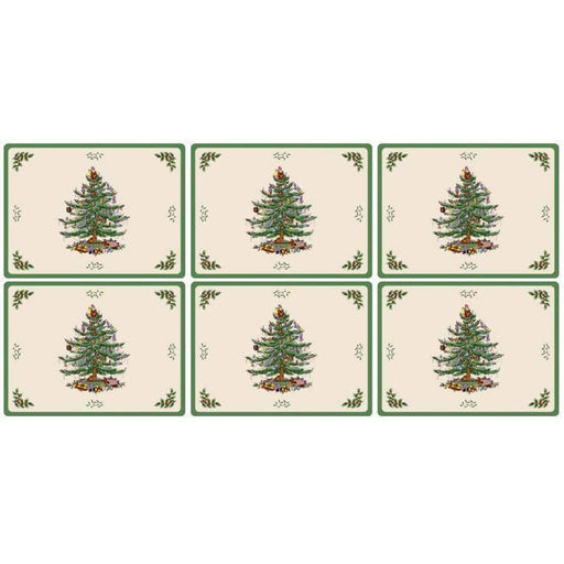 Pimpernel Christmas Tree Placemats Set of 6 - Simply Utopia