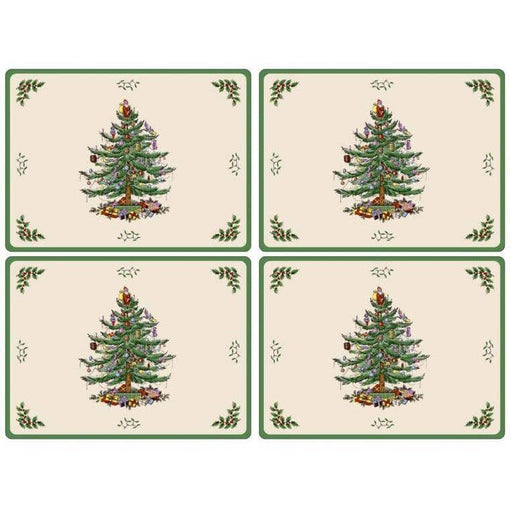 Pimpernel Christmas Tree Placemats Set of 4 - Simply Utopia