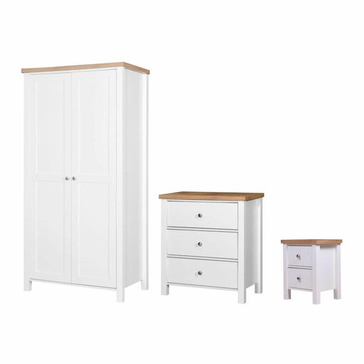 Astbury 3 Piece Bedroom Set 3 Drawer - Simply Utopia