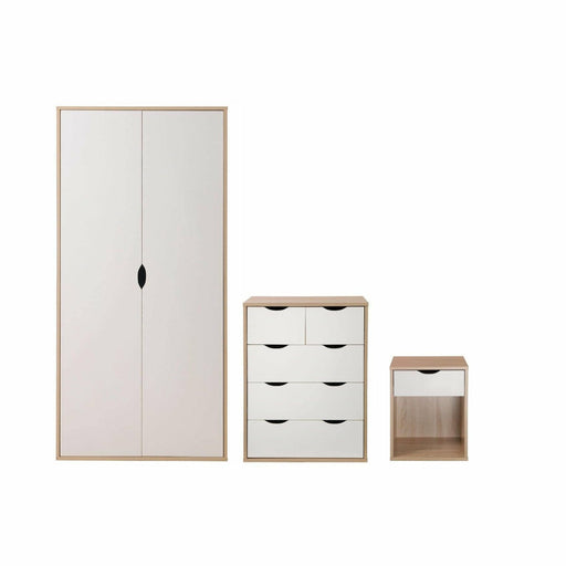 Alton 3 Piece Bedroom Set 3+2 Drawer - Simply Utopia