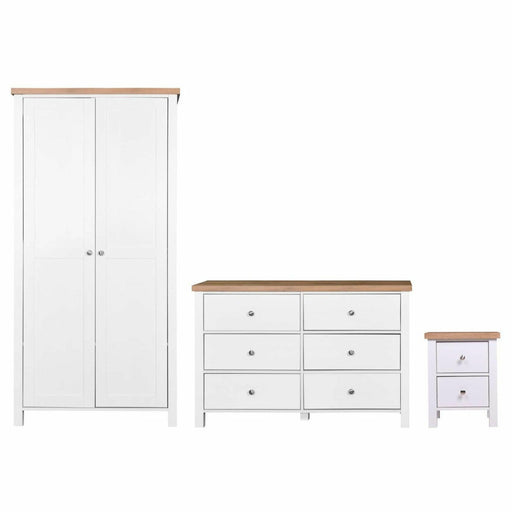 Astbury 3 Piece Bedroom Set 6 Drawer - Simply Utopia