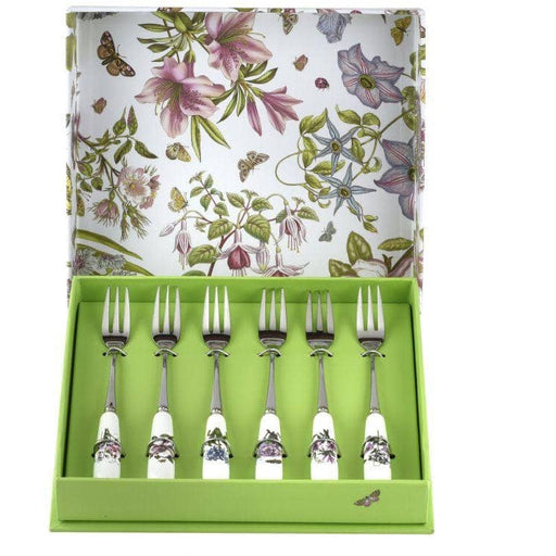 Portmeirion Botanic Garden Pastry Forks set of 6 - Simply Utopia