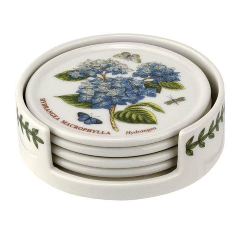 Portmeirion Botanic Garden Ceramic Coasters with Holder - Simply Utopia