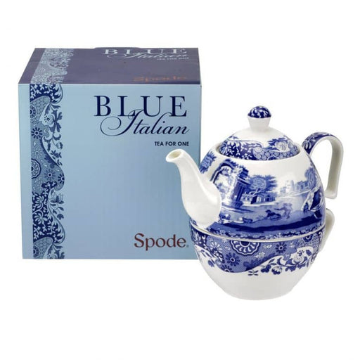 Spode Blue Italian Tea-for-One set - Simply Utopia